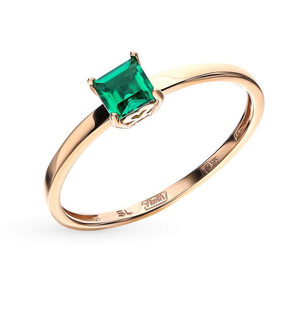 Фото «Золотое кольцо с изумрудом»