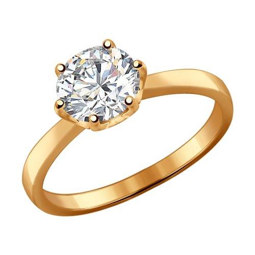 Серебряное кольцо с фианитами SOKOLOV 93010536 в Екатеринбурге