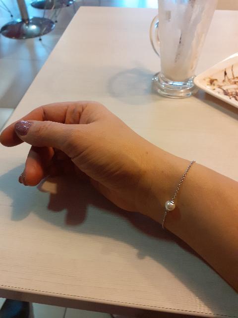 Само изящество - браслет с жемчугом