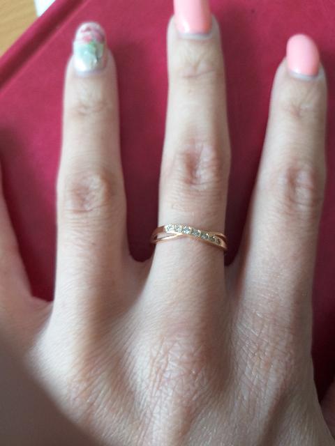 Красивое и оригинальное кольцо.