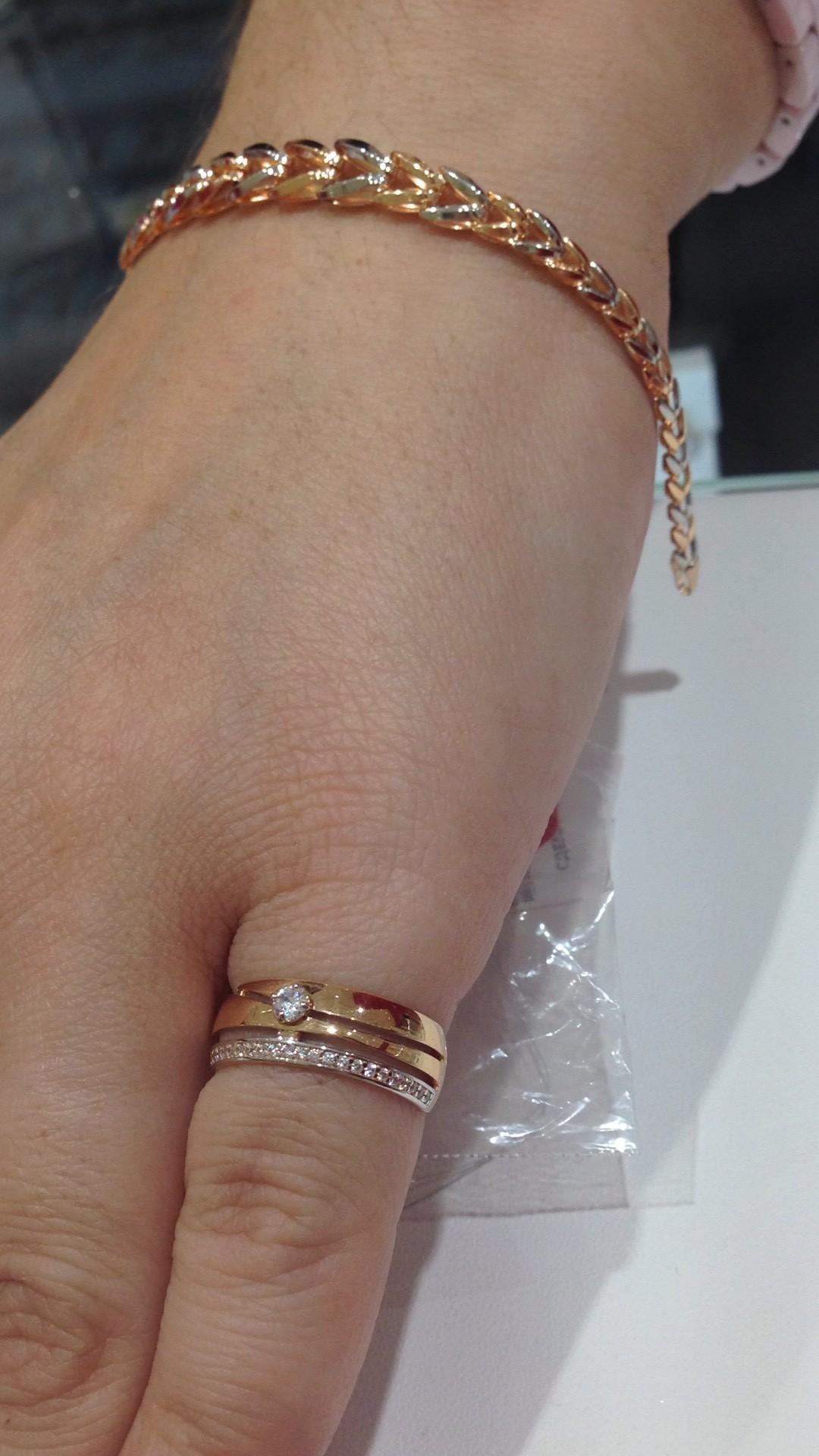 Красивое, золотое кольцо