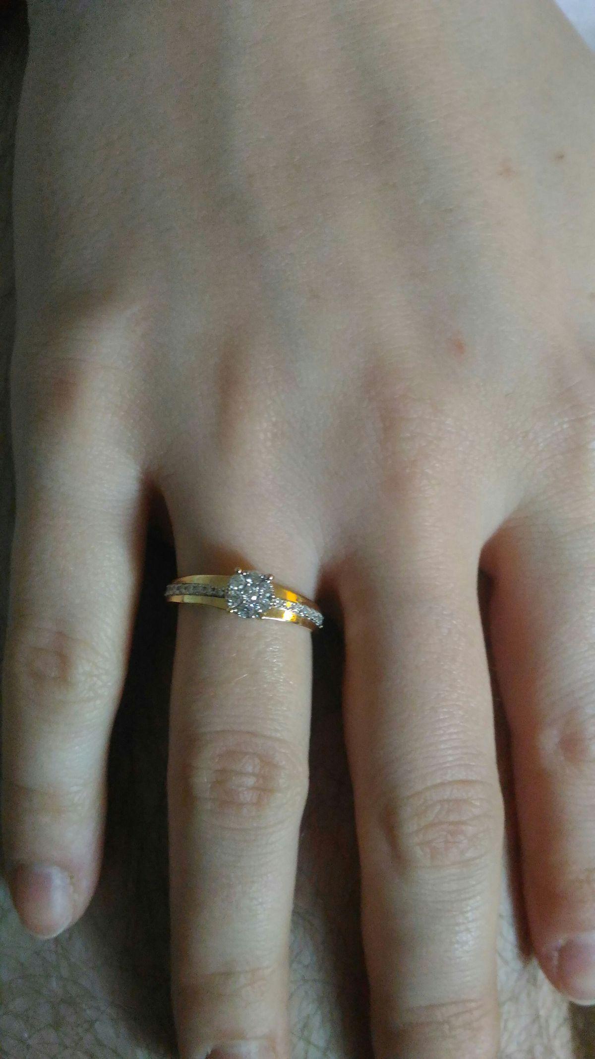 Очень простое и в то же время необычное кольцо