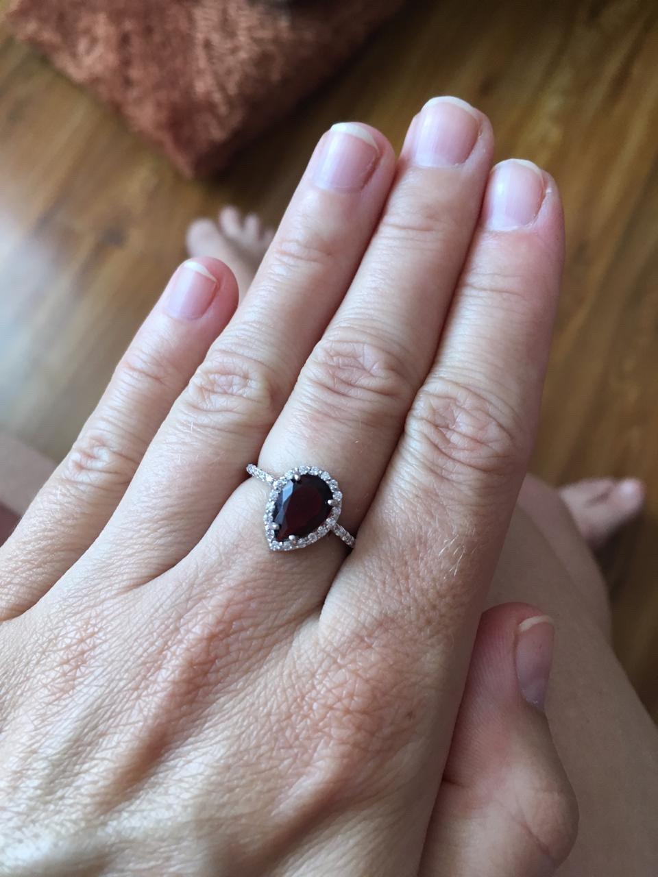Прекрасное кольцо для любимой