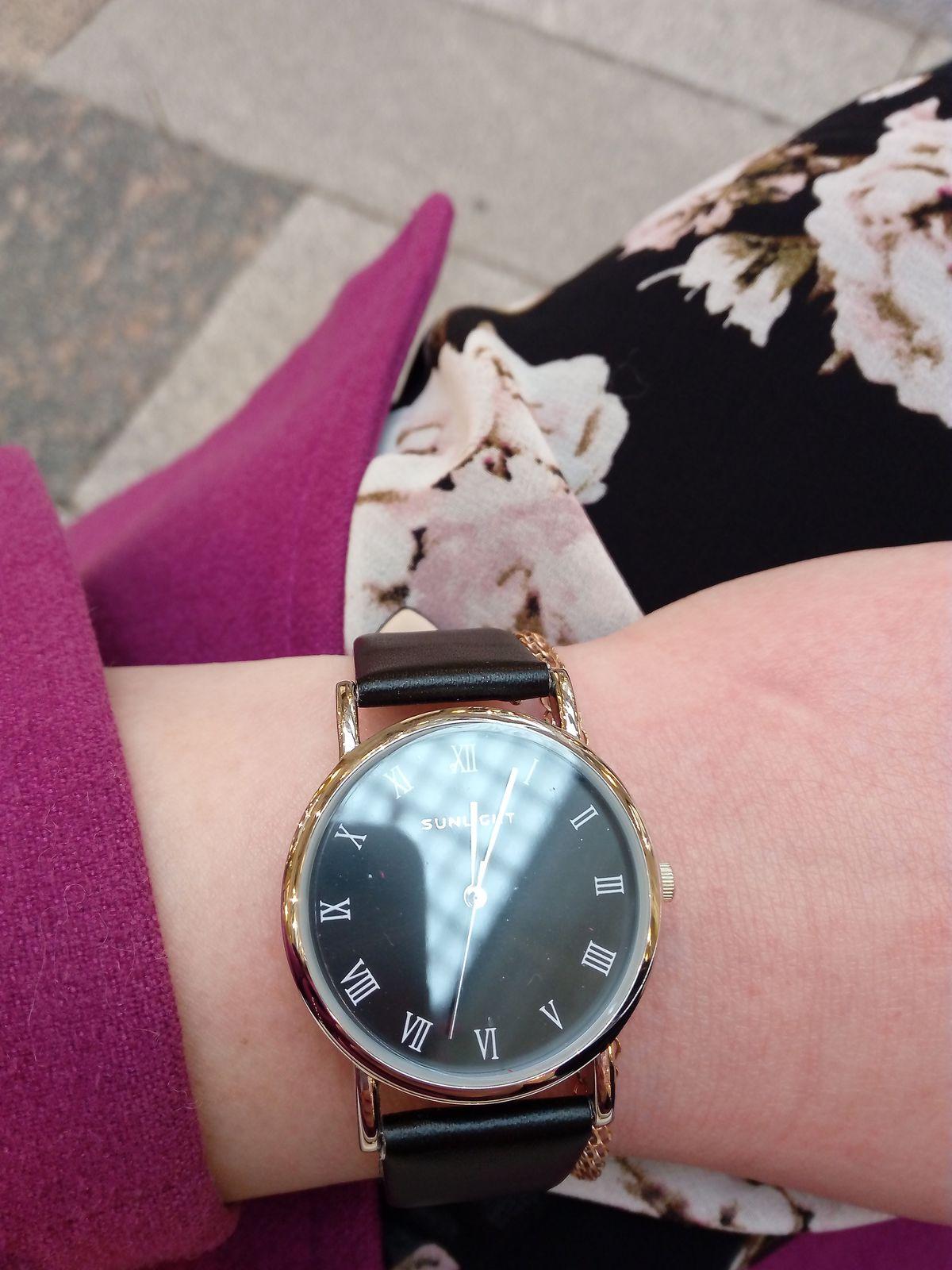 Часы очень понравились!)