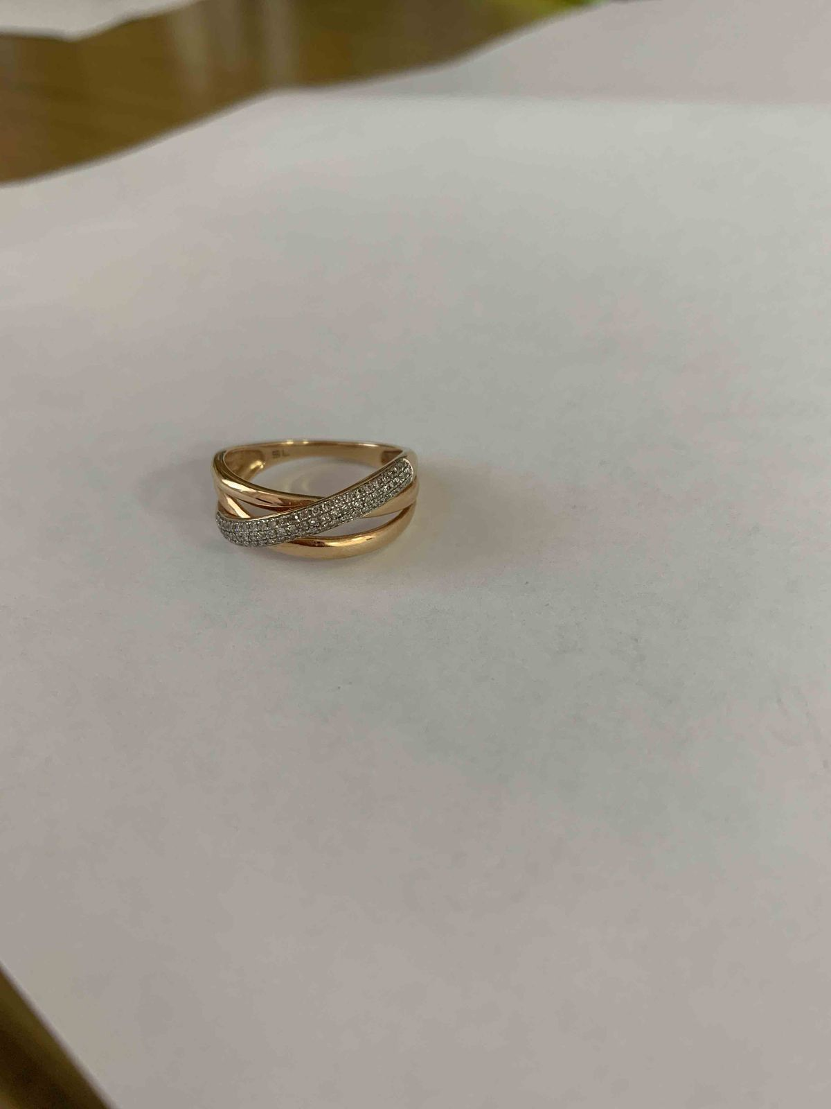 Кольцо с брильянтами!