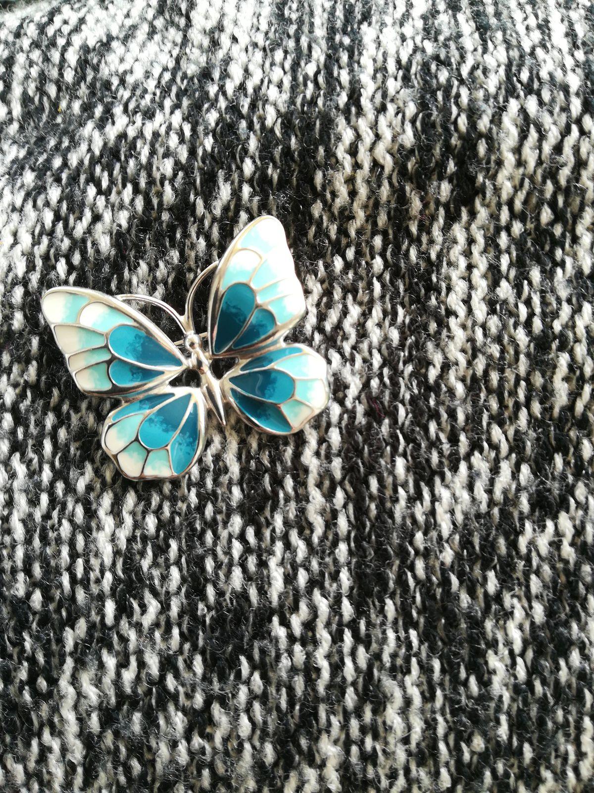 Красивая бабочка!