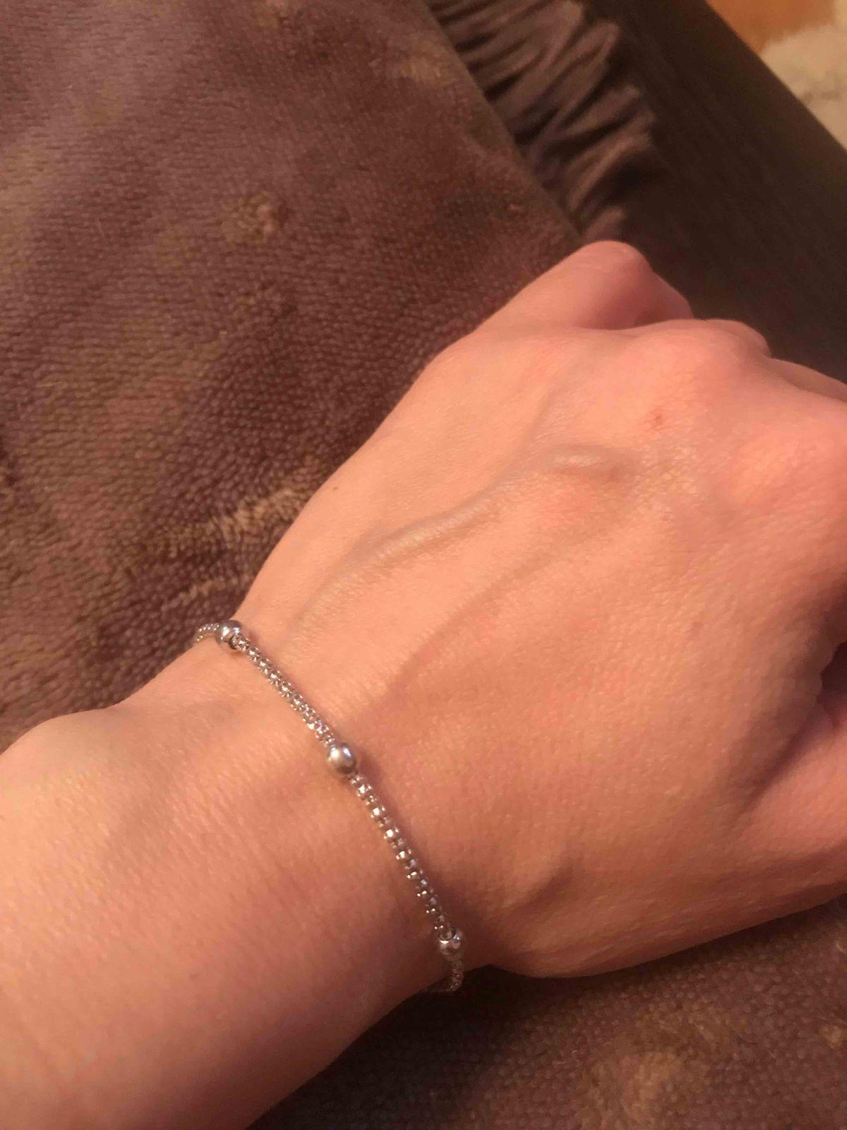 Чудесный серебряный браслет нашла сегодня я в санлайт мега теплый стан,ура