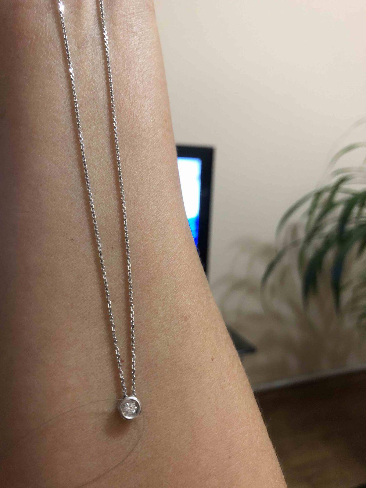 Очаровательная цепочка с алмазной обработкой.