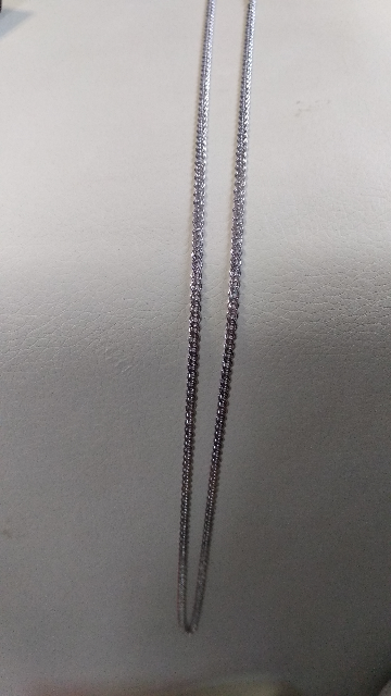 Цепочка серебро.