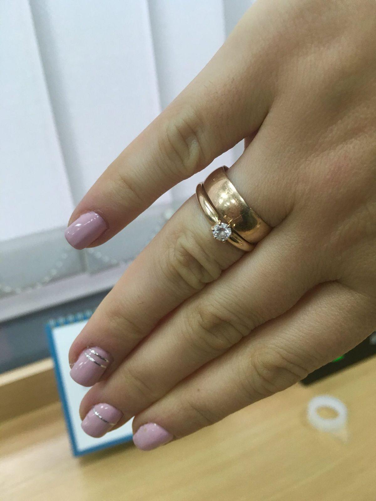 Классическое кольцо!!!💍