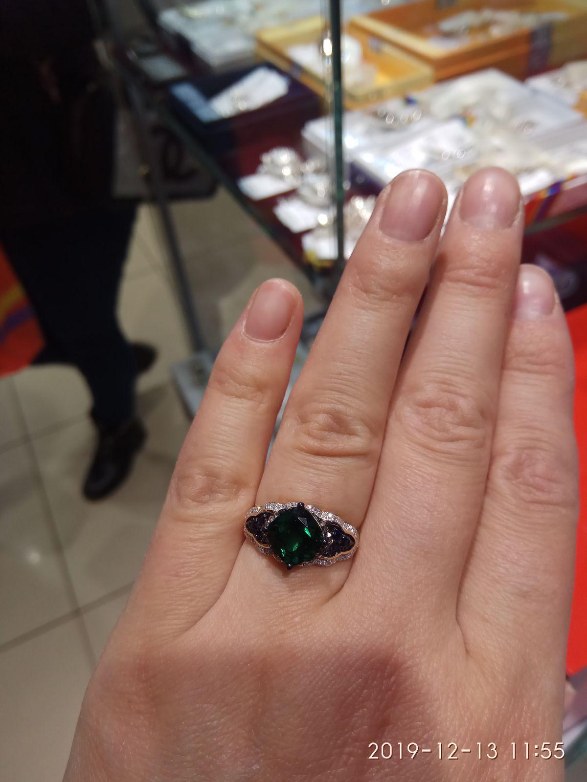 Роскошное кольцо для шикарной женщины!