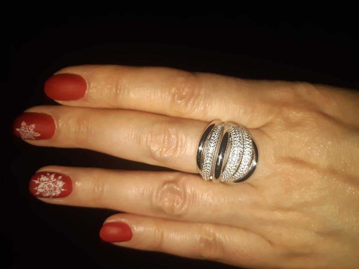 Объемное  кольцо