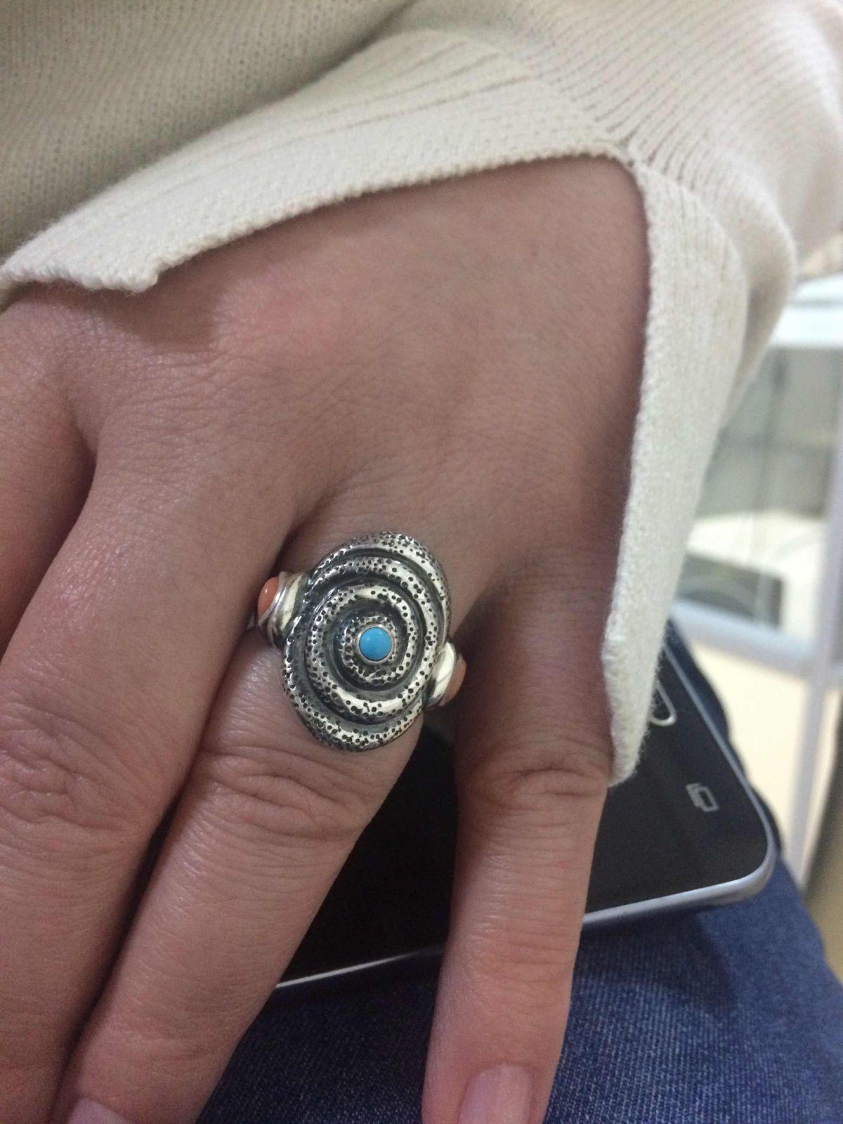 Необычное кольцо 😍
