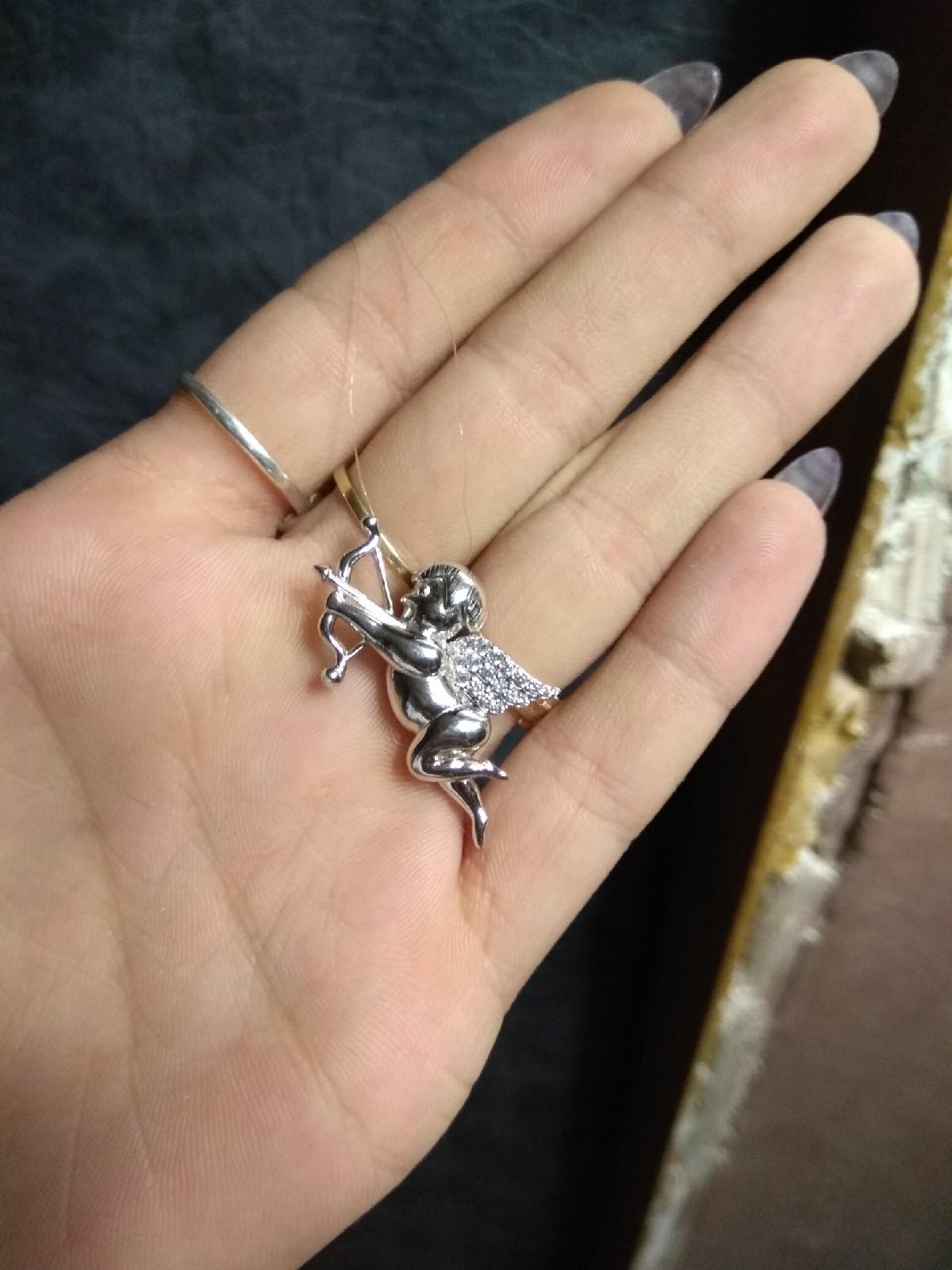 Купидон серебряный