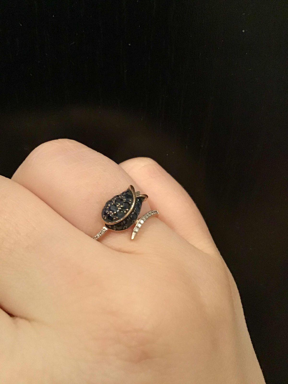 Очень необычное и красивое кольцо
