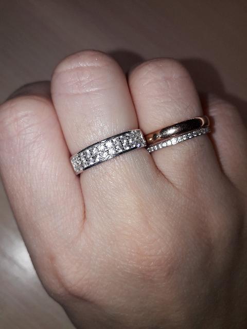 Нежное и милое кольцо!