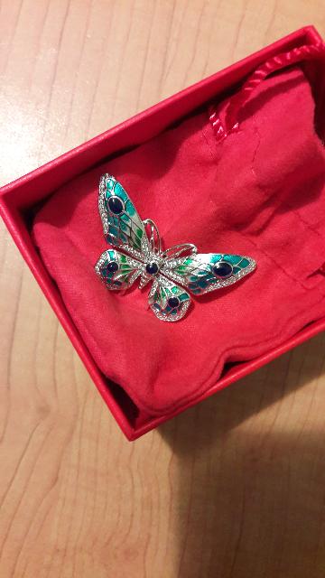 Милая бабочка.