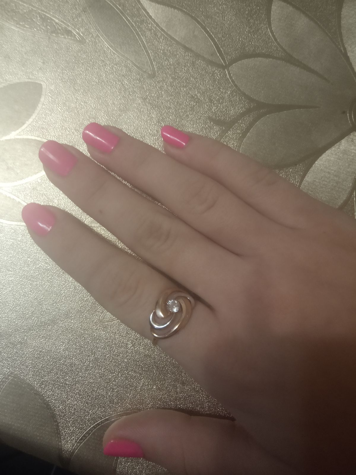 Серебро. Кольцо.
