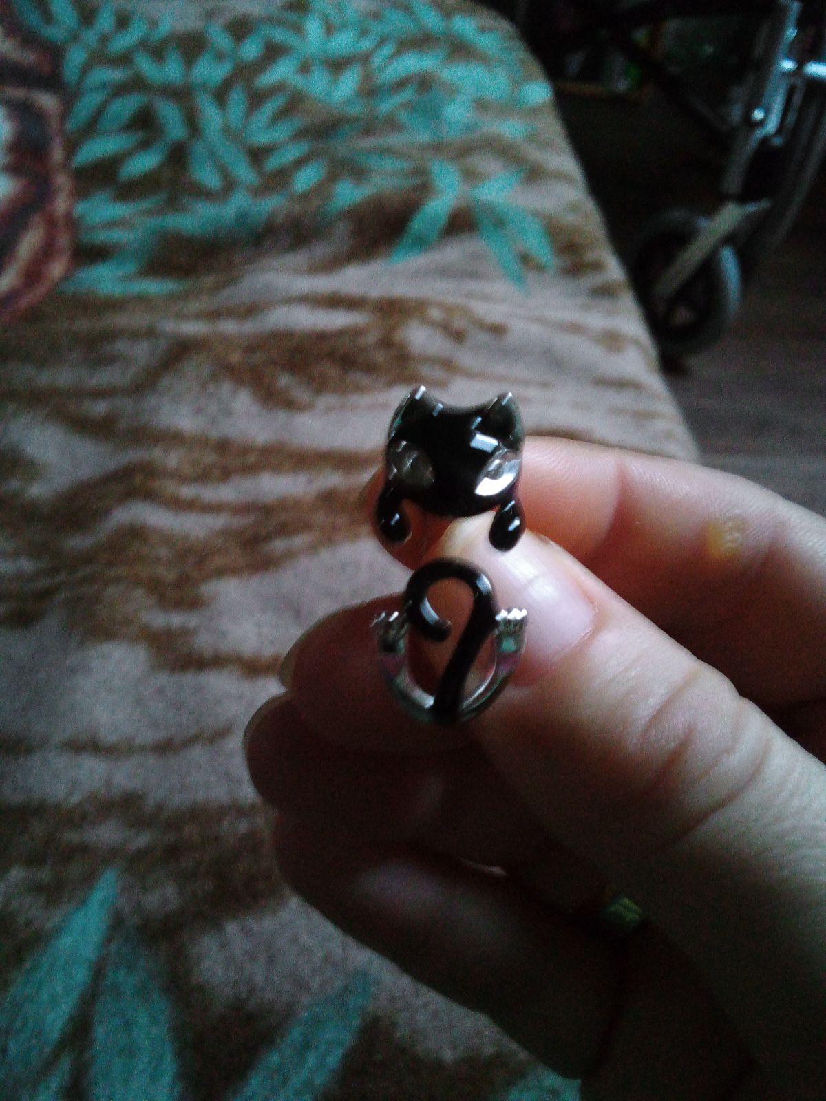 Кольцо кот