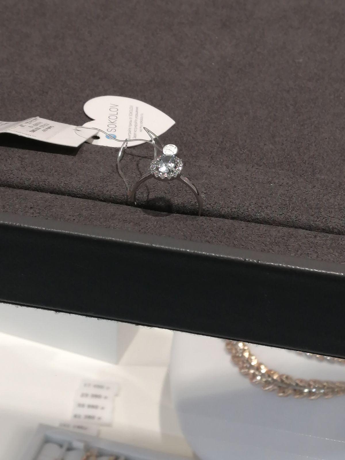 Кольцо с топазамм