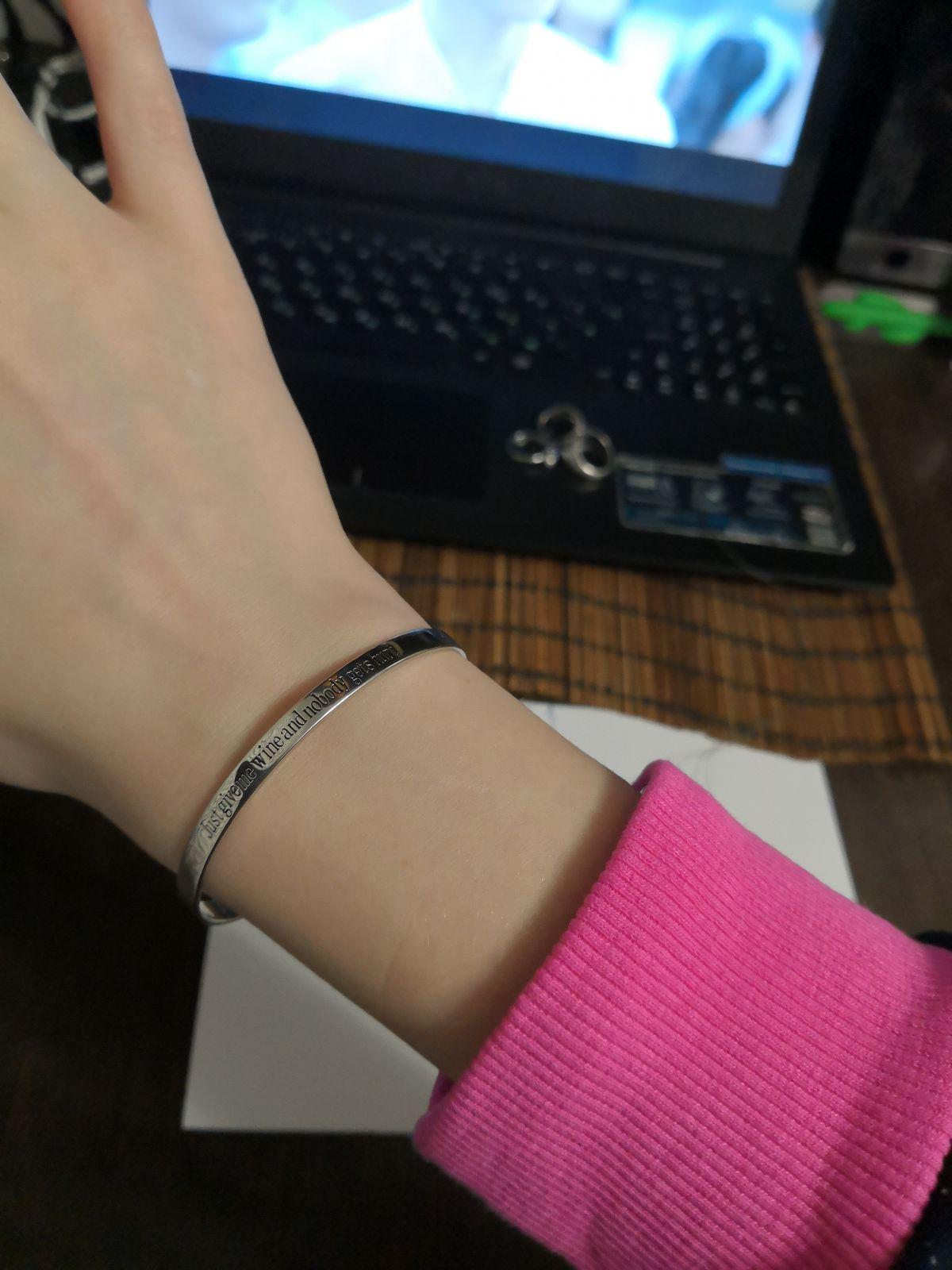Сереьрянный браслет.