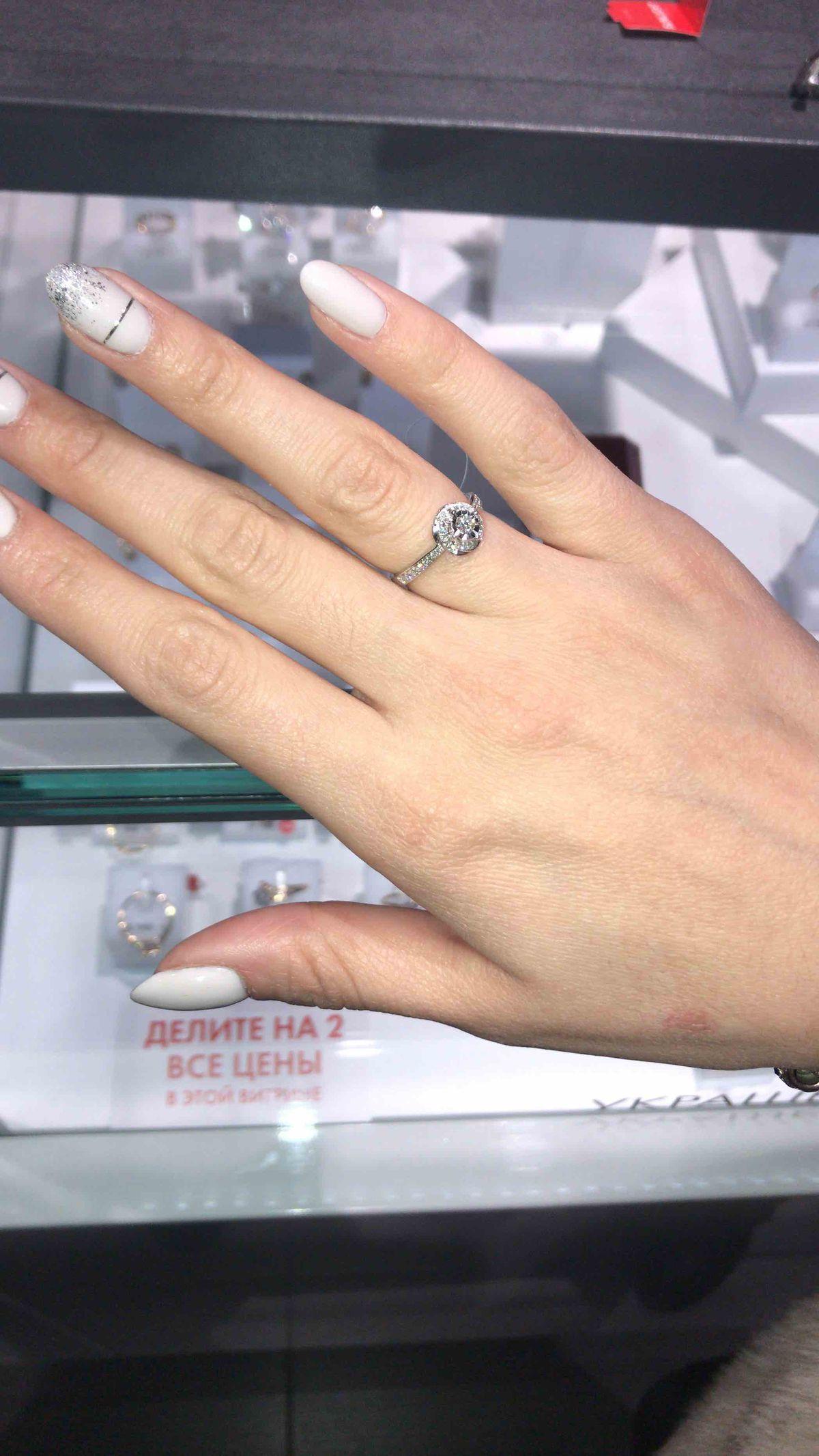 Нежное кольцо 💕