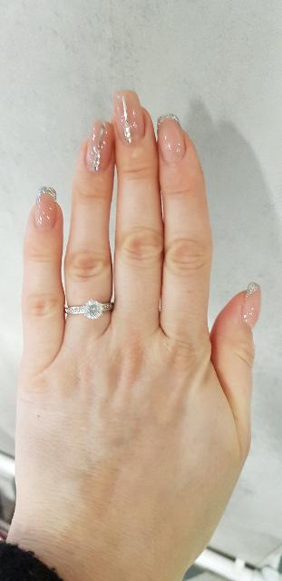Кольцо моя прелесть !