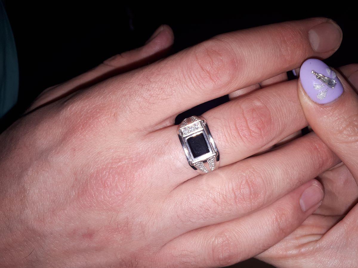 Серерянное кольцо