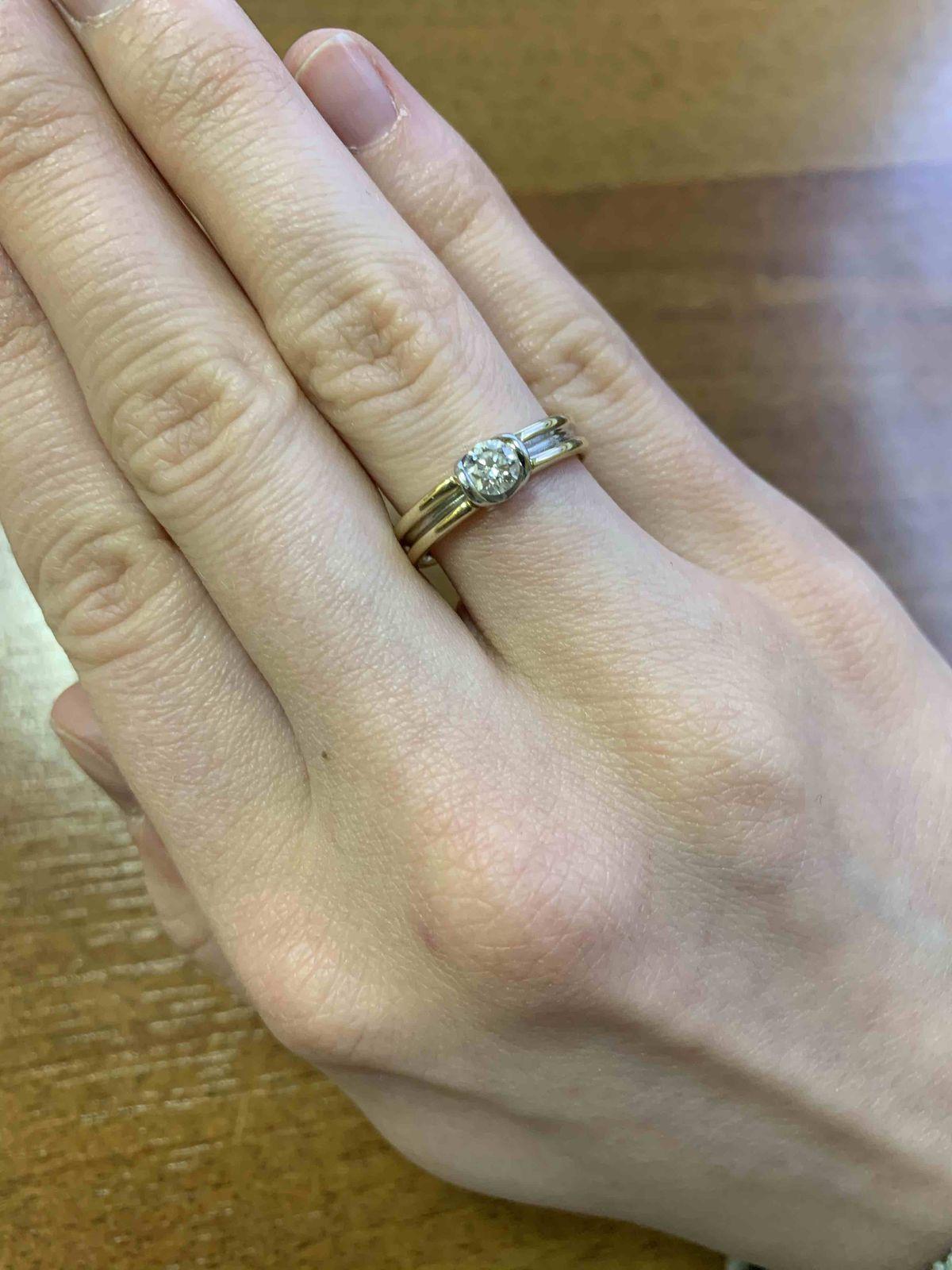 Симпатичное кольцо.