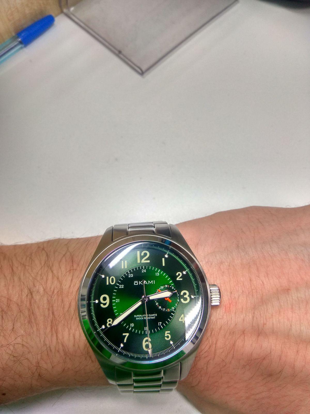 Отличные часы 🖤