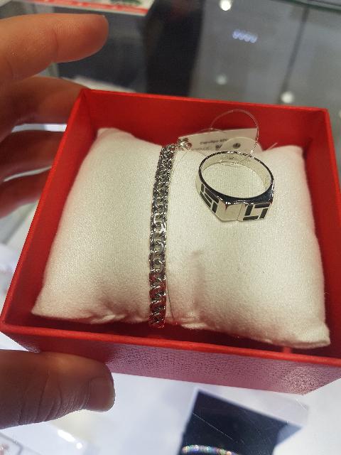 Купила браслет мужу и кольцо
