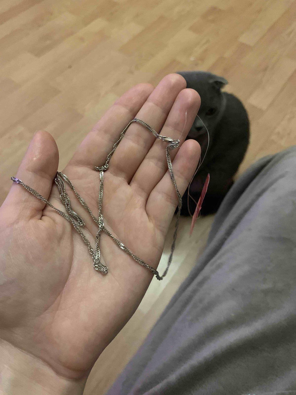 Очень красивая цепь.