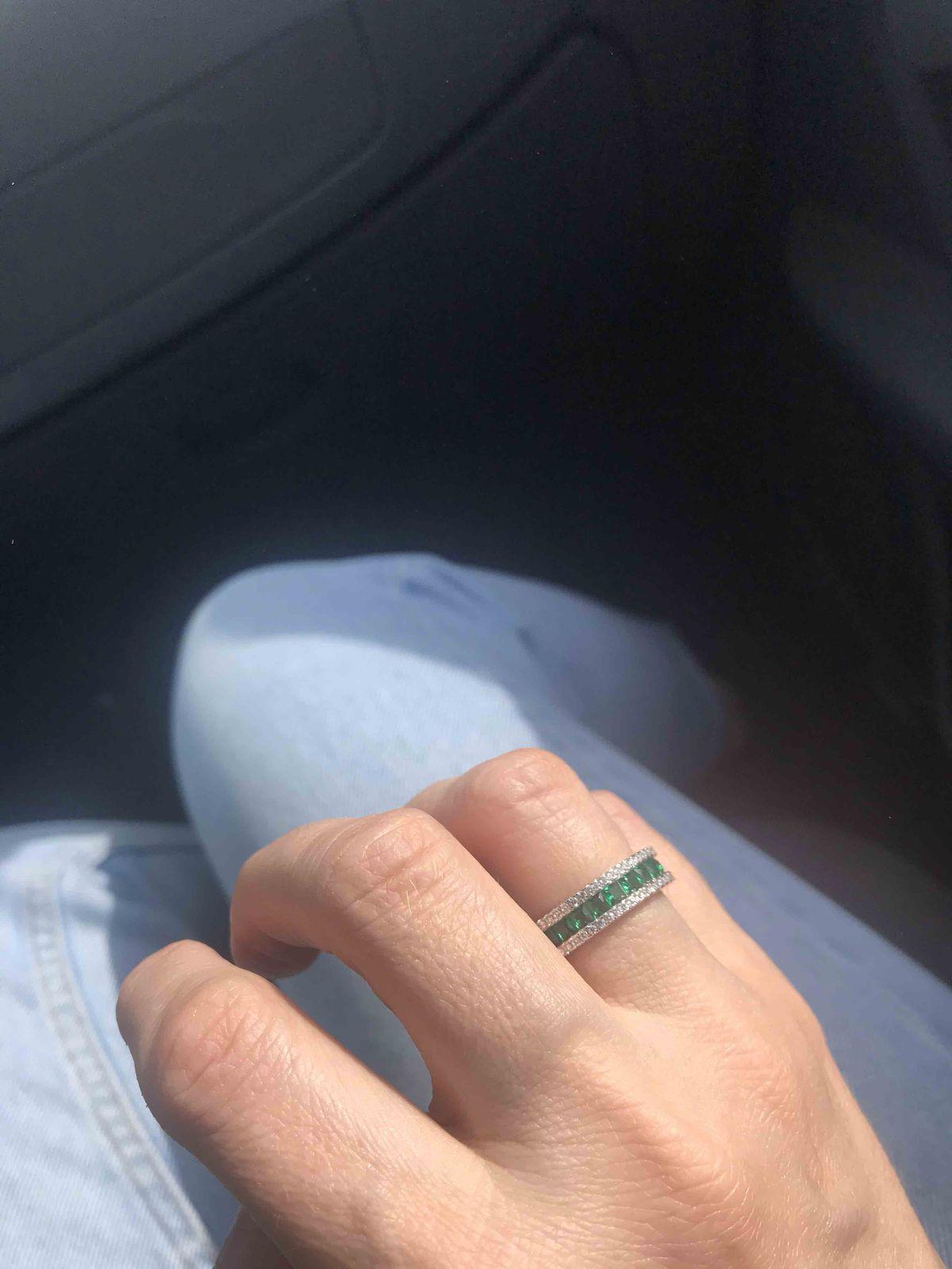 Кольцо понравилось !
