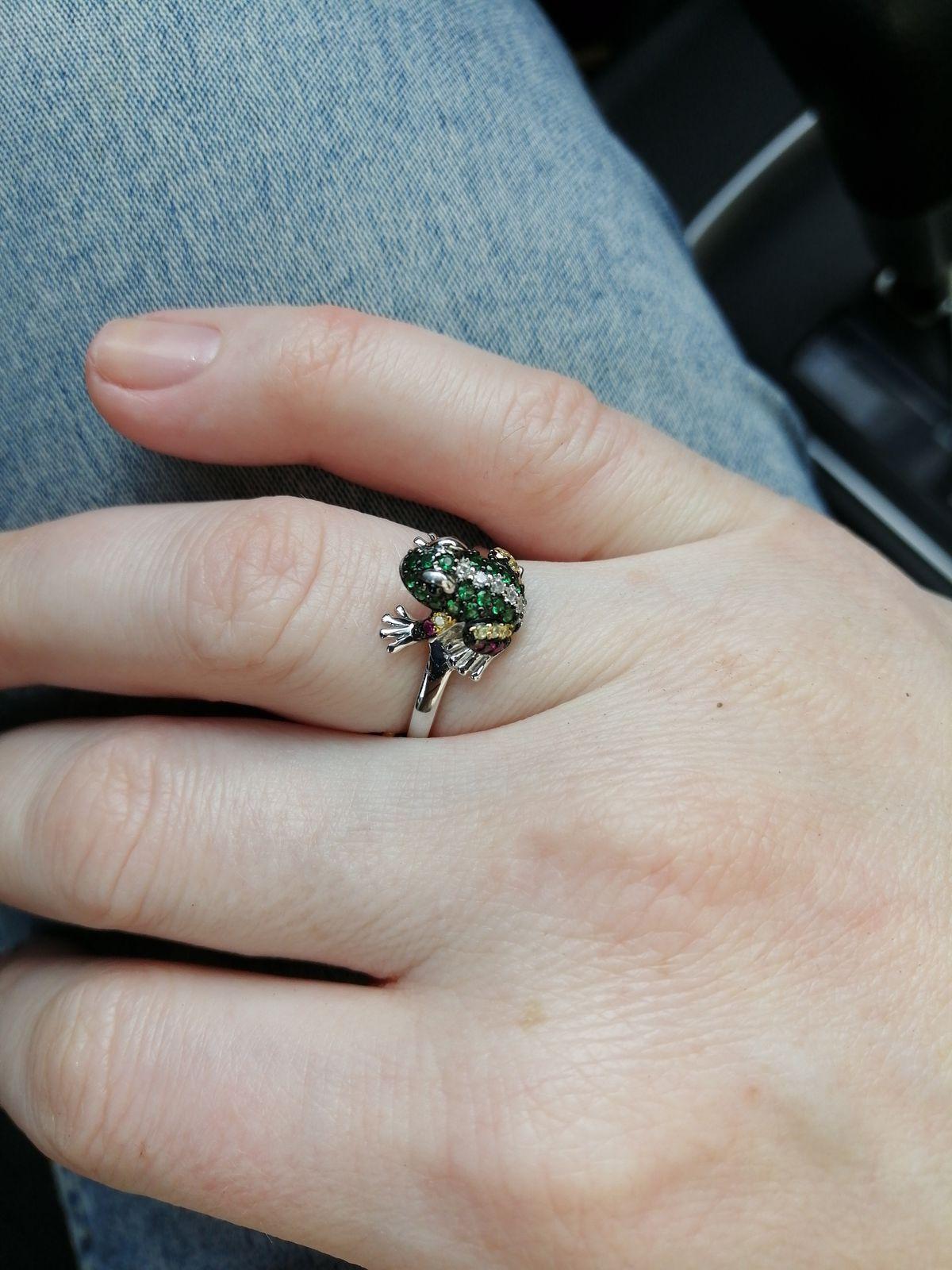 Кольцо лягушонок