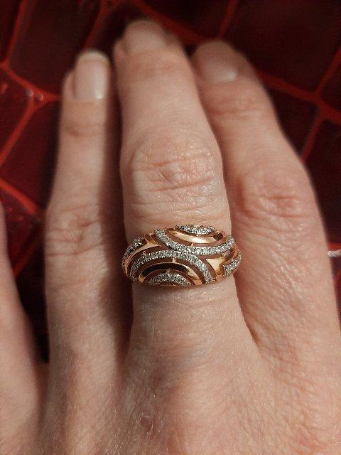 Кольцо для среднего пальца