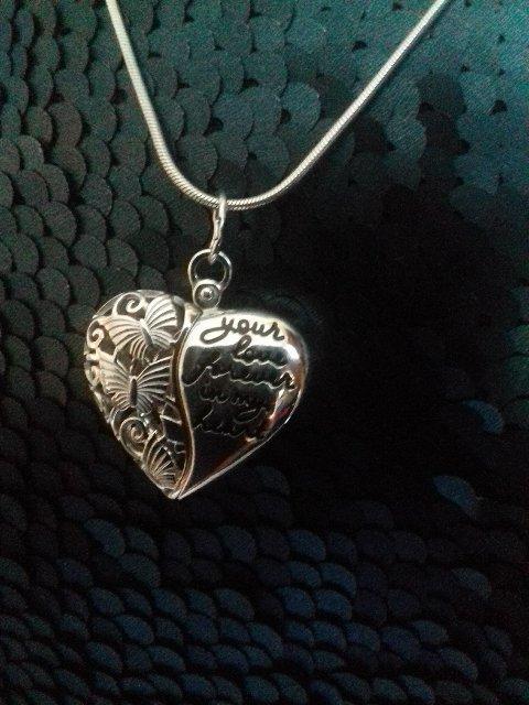 Оригинальная подвеска в форме сердца
