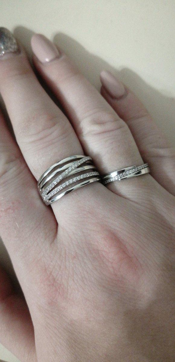 Красивое обручальное кольцо 💍