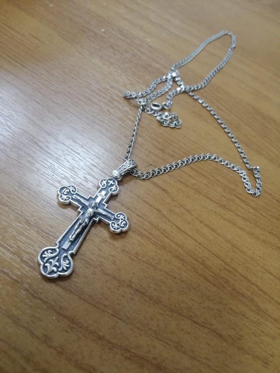 Крестик мужской