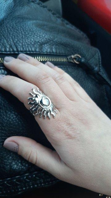 Давно искала широкое кольцо, и очень довольна находкой