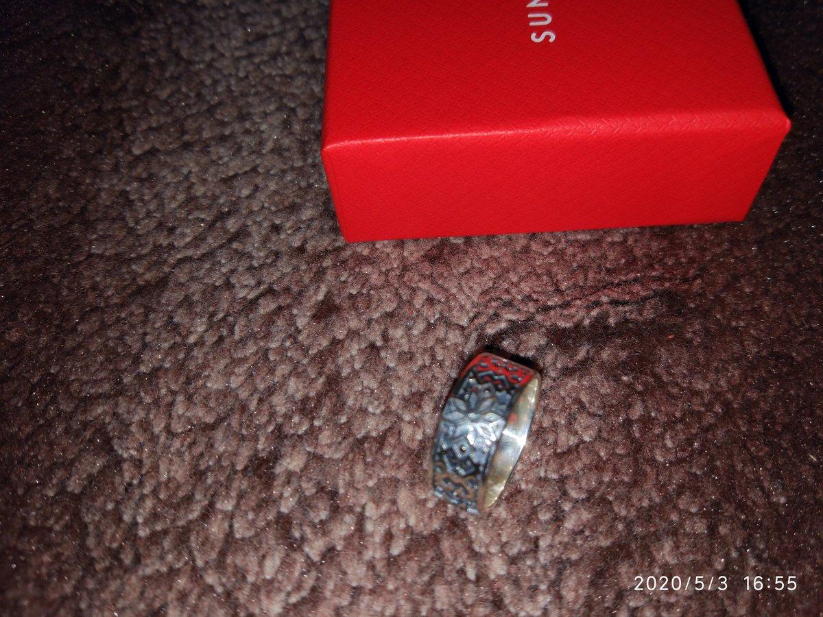 Серебренное кольцо-оберег