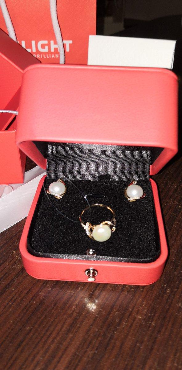 Комплект Одри серьги и кольцо