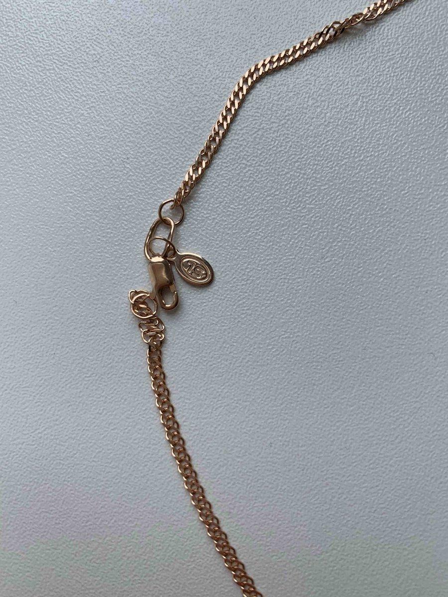 Цепочка золотая, 50 см