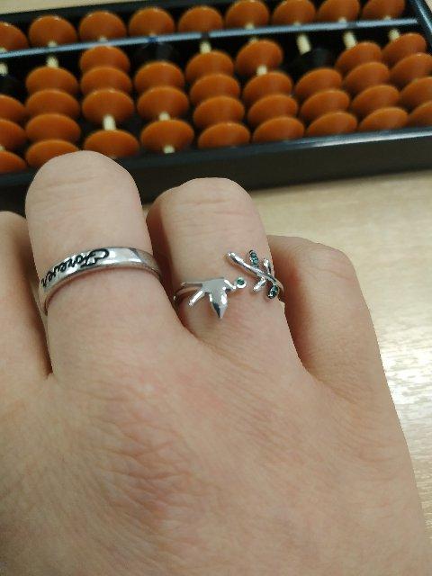 Серебряныое кольцо с фианитами