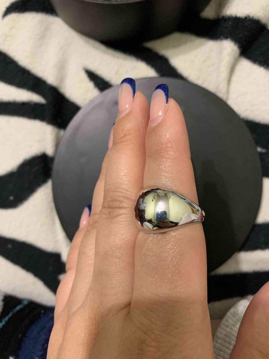 Кольцо шар