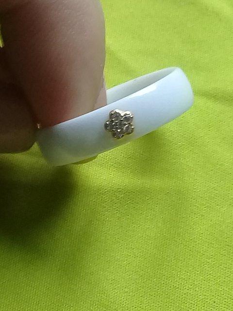 Керамическое колечко