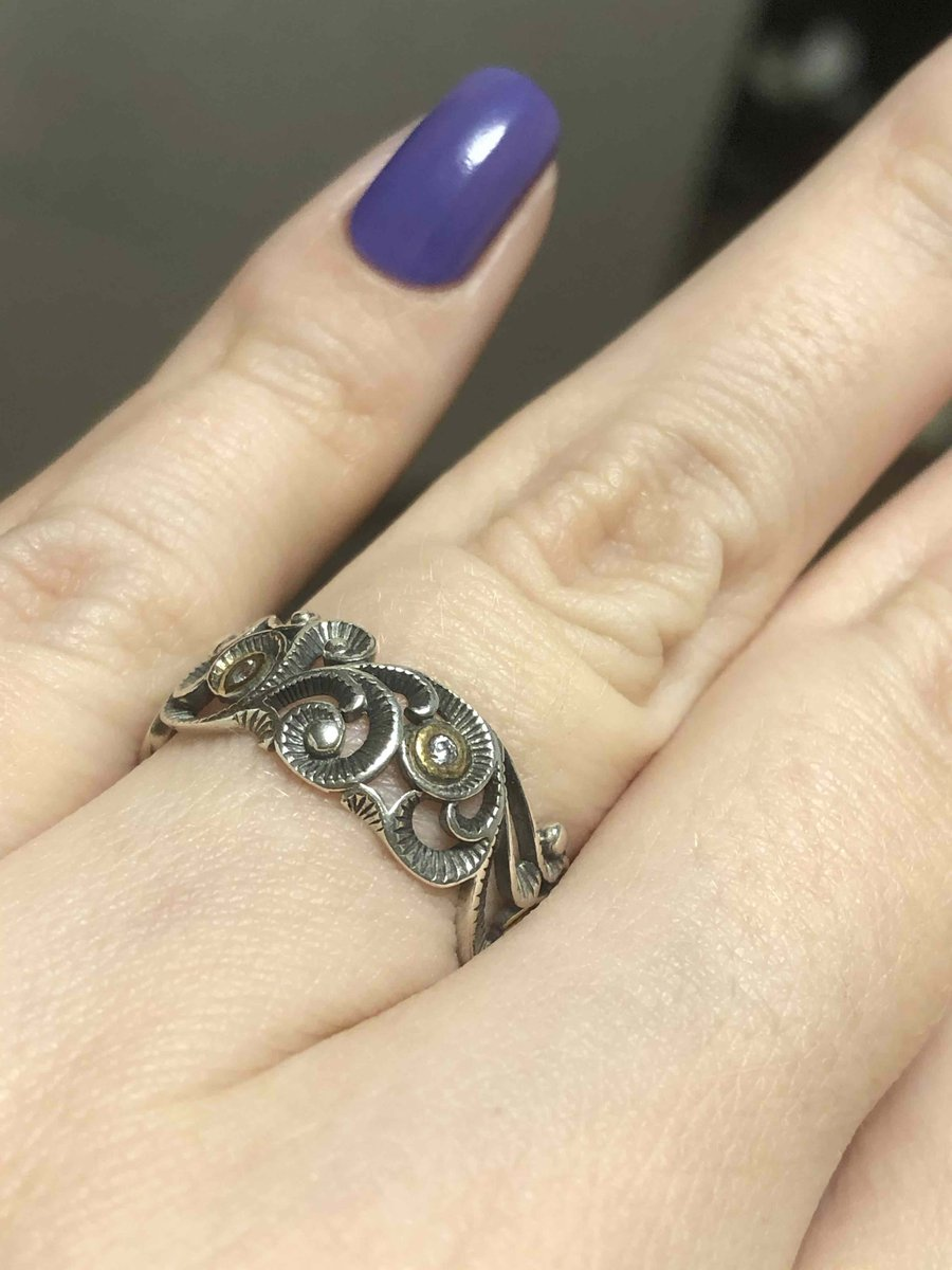 Красивое не обычное кольцо
