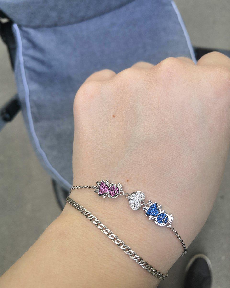 Заказывала браслет в подарок для себя любимой после рождения 2 дочки