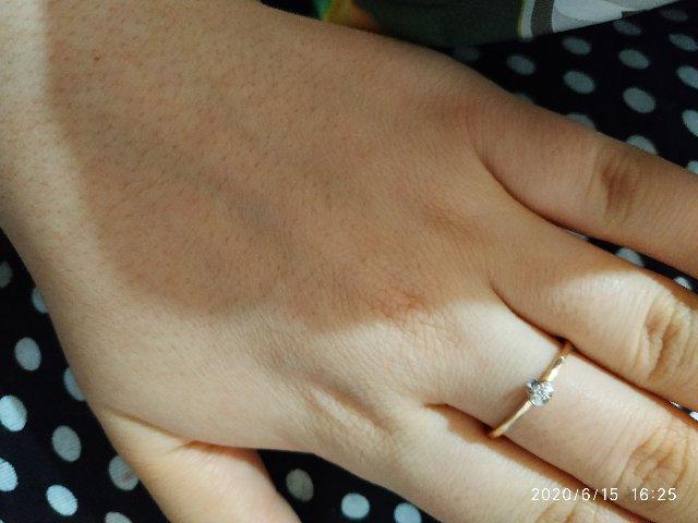Мой первый бриллиант!