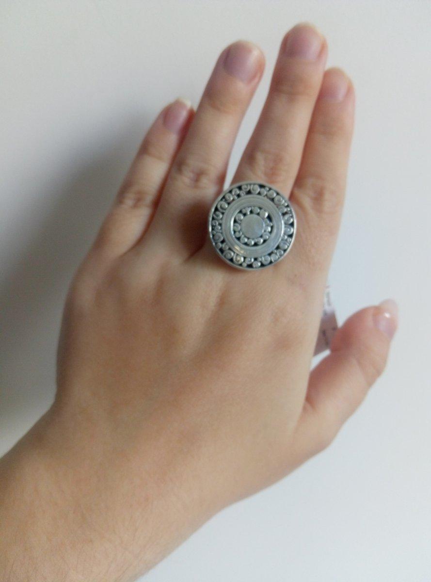 Стильное кольцо в стиле бохо