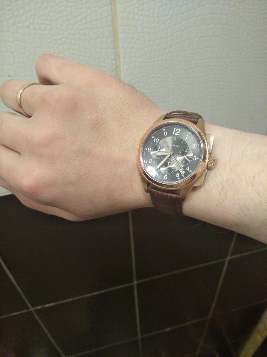 Отличные часы! Муж доволен:)